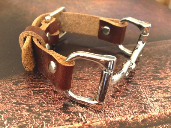 Equestrian D-Bit Bracelet