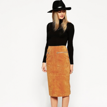 Top 10 Suede Skirts