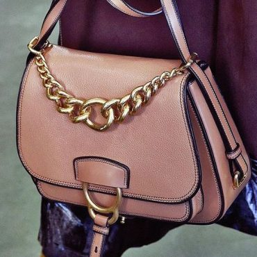 TREND: Equestrian Inspired Saddle Bag