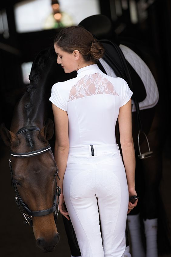 Horseware Ireland Sara Short Sleeve Competition Shirt