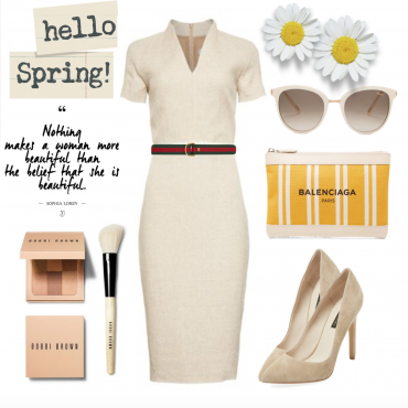 Get The Look: Spring Equestrian Evening Look