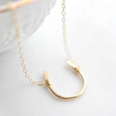 Accessorize: Horseshoe Charm Necklace