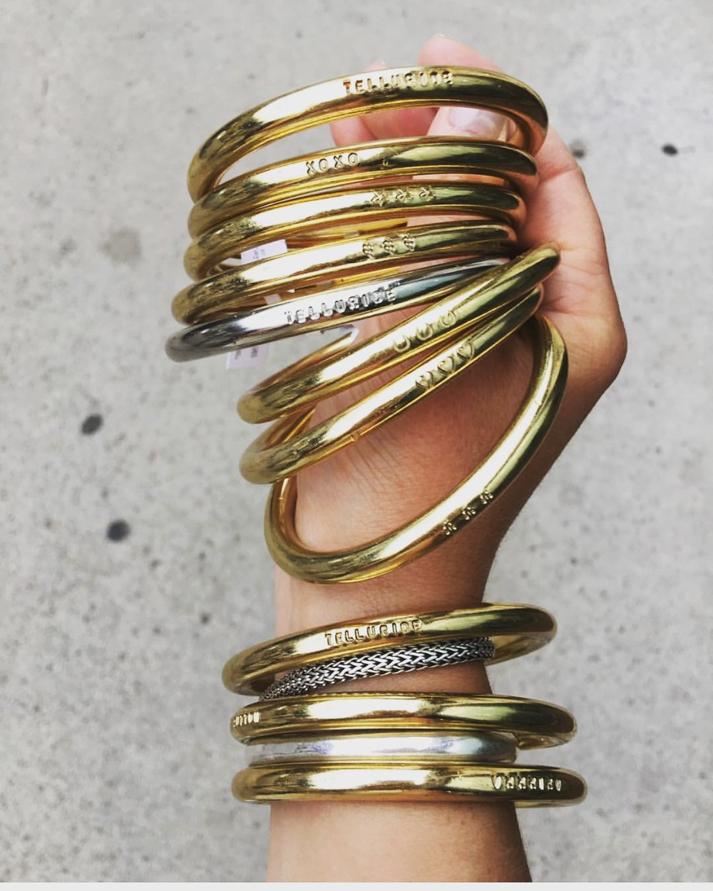 Equestrian Style: Dillen Gold Bangle