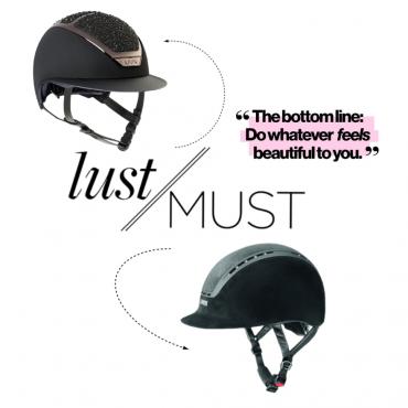 LUST/MUST: Helmet Glamour