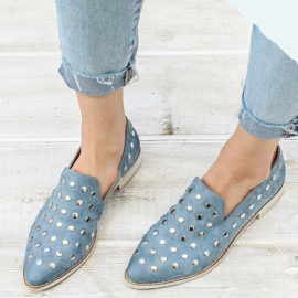 Style On The Go Studded Loafer