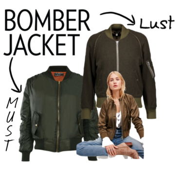 LUST/ MUST: Fall Trend Bomber Jacket