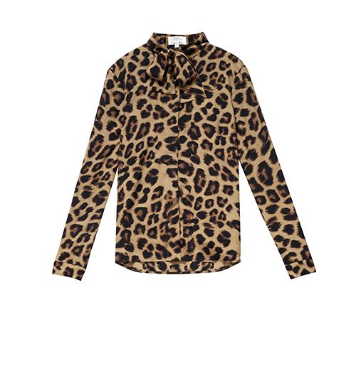 India Hicks Cheetah Shirt