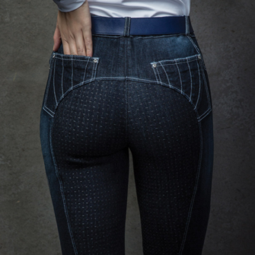 HTWI: Equetech Denim Grip Breeches